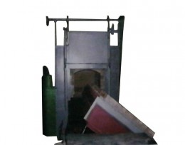 翻转式台车炉
